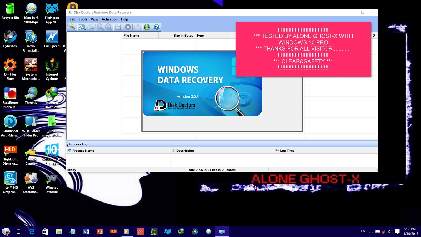 Disk doctors windows data recovery 1.0.0.7 setup key