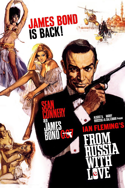 Poster of James Bond From Russia with Love 1963 720p Hindi BRRip Dual Audio