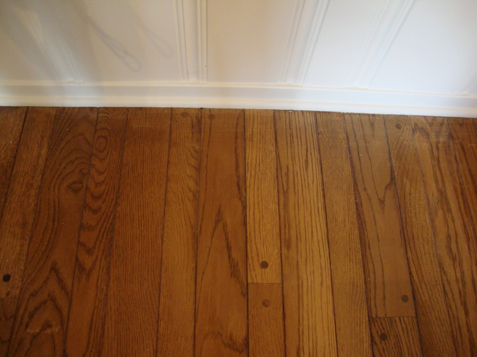 Hooked on hickory old charm and new charm for Hardwood floors throughout