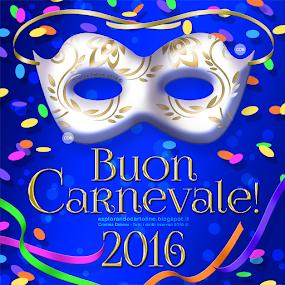 Cartolina Buon Carnevale 2016