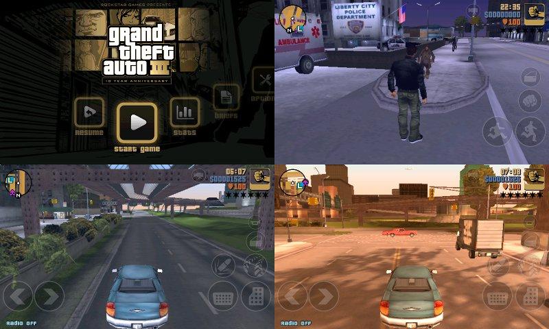 Grand Theft Auto III на андроид скачать бесплатно