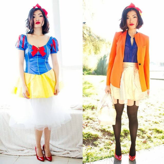 Vancouver Fashion Blogger Jasmine Zhu 4 easy halloween twists to everyday outfits
