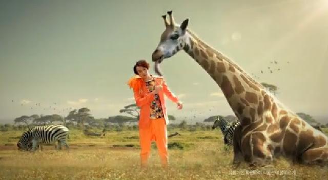 Fanta Lee Kwang Soo Giraffe
