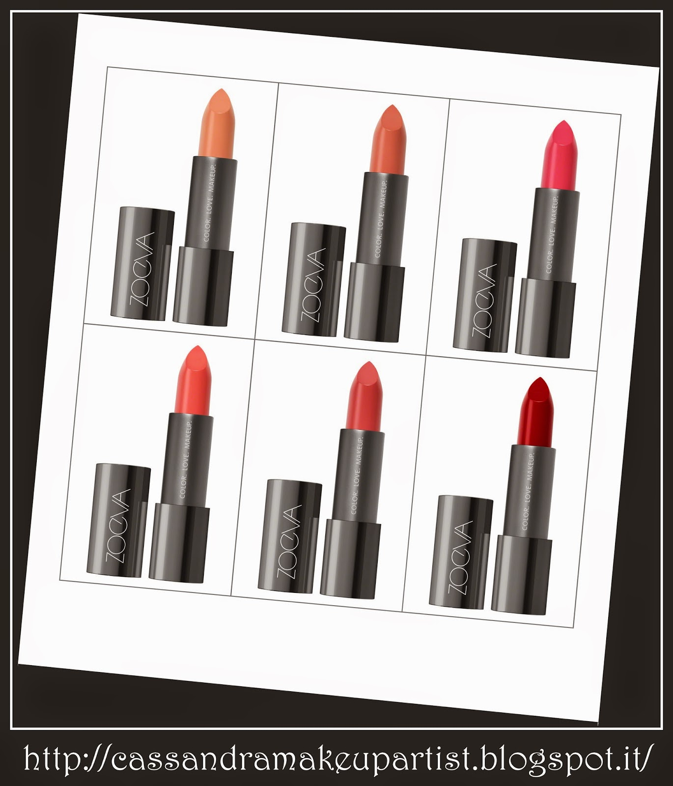 zoeva - luxe cream lipstick
