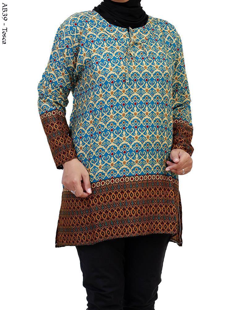 Menjual Baju Muslim Gamis Blus Batik Berkualitas Menjual