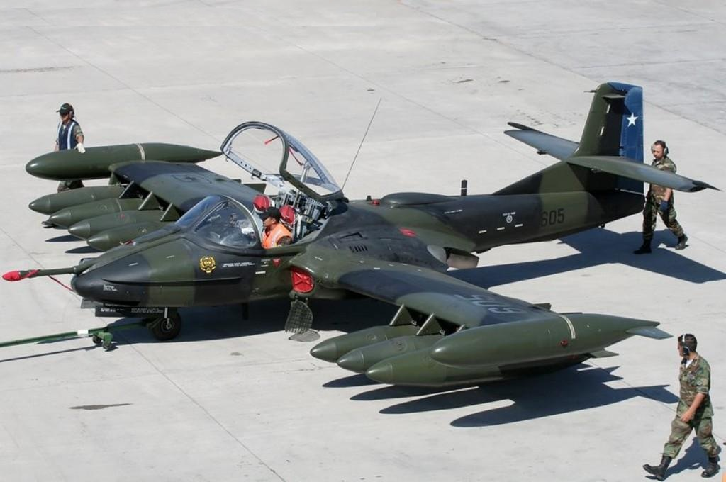 El Salvador optara por aviones usados Cessna A-37 chilenos