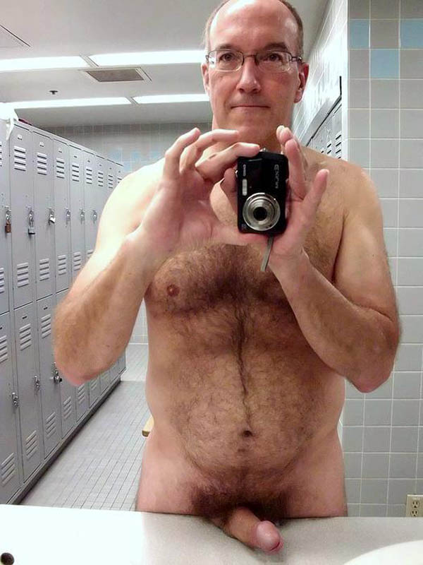 Naked Gay Old Man