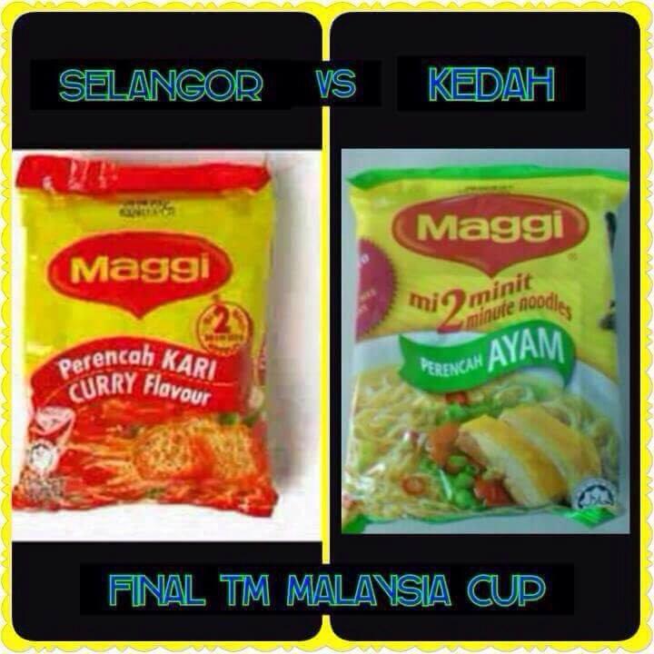 Final TM Piala Malaysia 2015 Selangor vs Kedah di Cafe Serumpun
