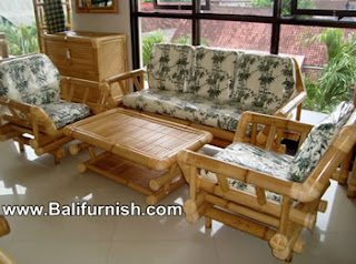 Bamboo Furniture from Bali