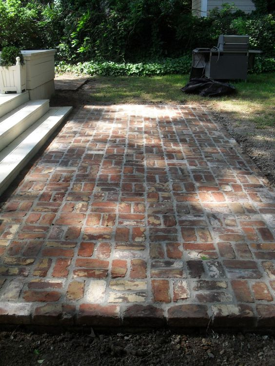 Reclaimed brick tile patterns from ordinary to extraordinary reclaimed brick tile blog - Reclaimed brick design ideas ...