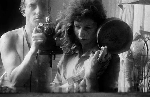 Auto-retratos ao espelho de fotógrafos famosos - Ed van der Elsken