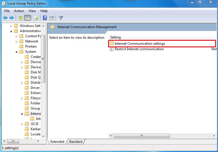 Mengatasi Windows Explores Has Stoped Working melalui gpedit.msc 2