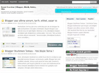 davuterarslan.com sitesinin resmi