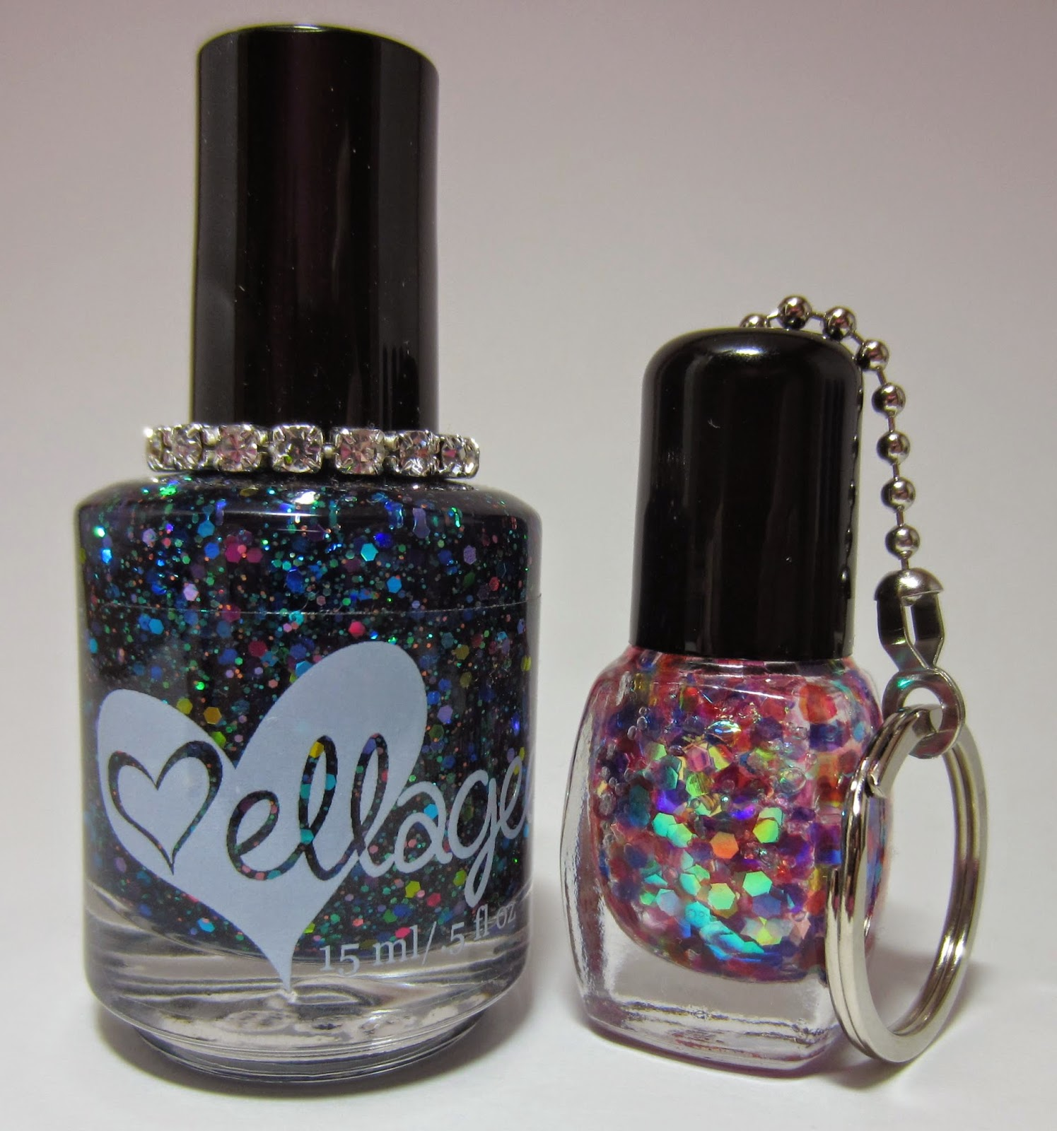 Ellagee Group On Facebook And I Was Able To Snag This Gorgeous Custom Polish As Well A Cute Nail Bottle Keychain Let S Take Look