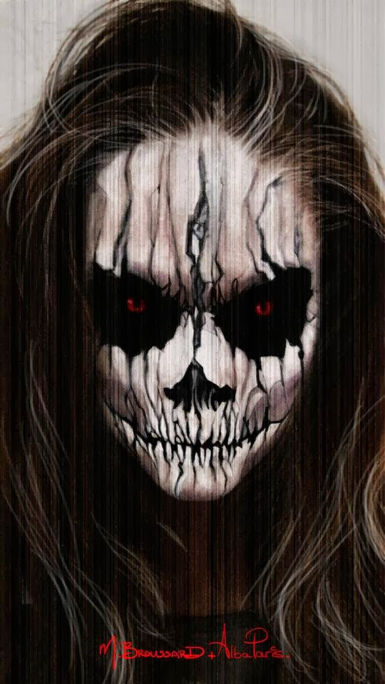 wwwLetzMakeupBlogcom: Evil Demon Halloween Makeup Tutorial - Cool Halloween Face Makeup
