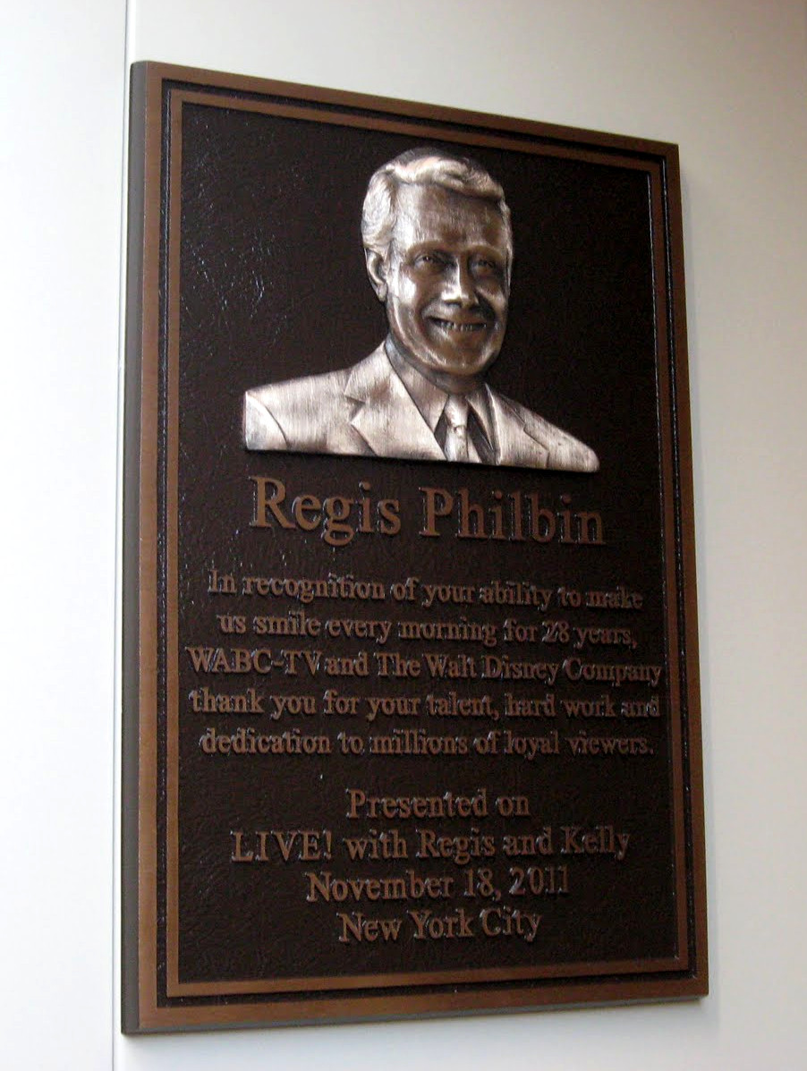 Regis Philbin Plaque