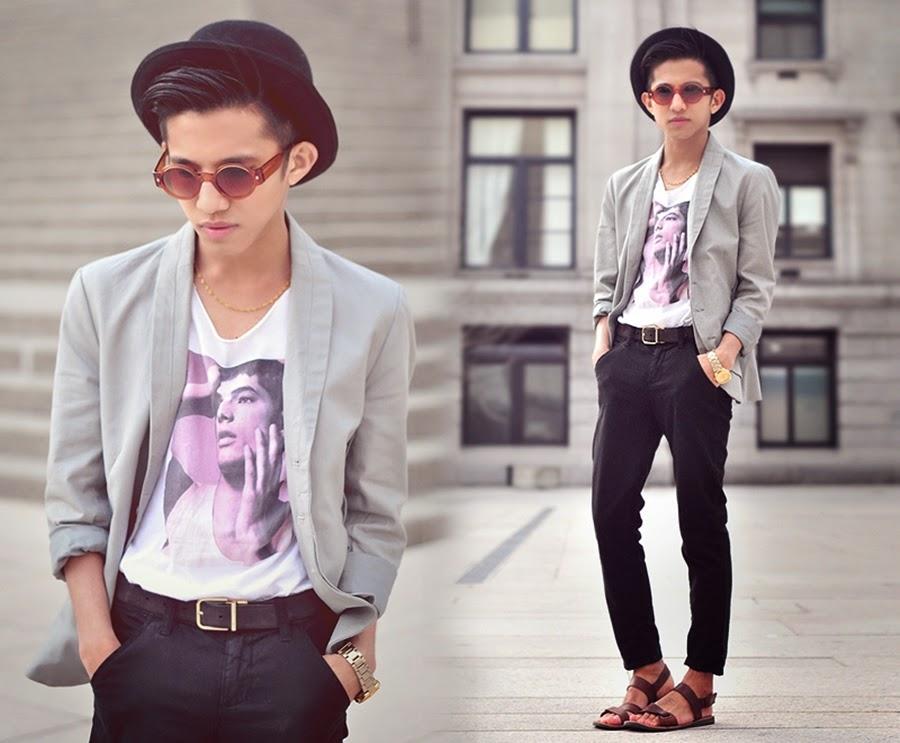 vintage style boy men's fashion blog