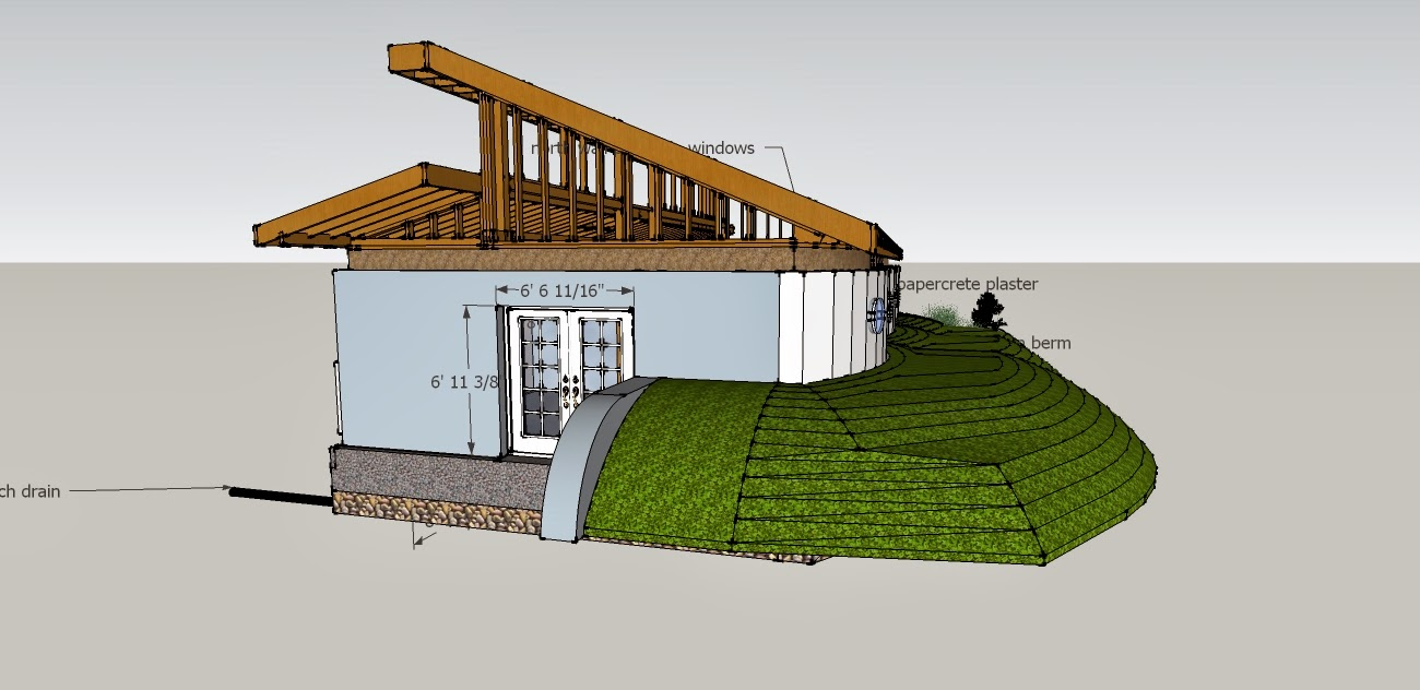 Small earth berm home plans joy studio design gallery for Berm home