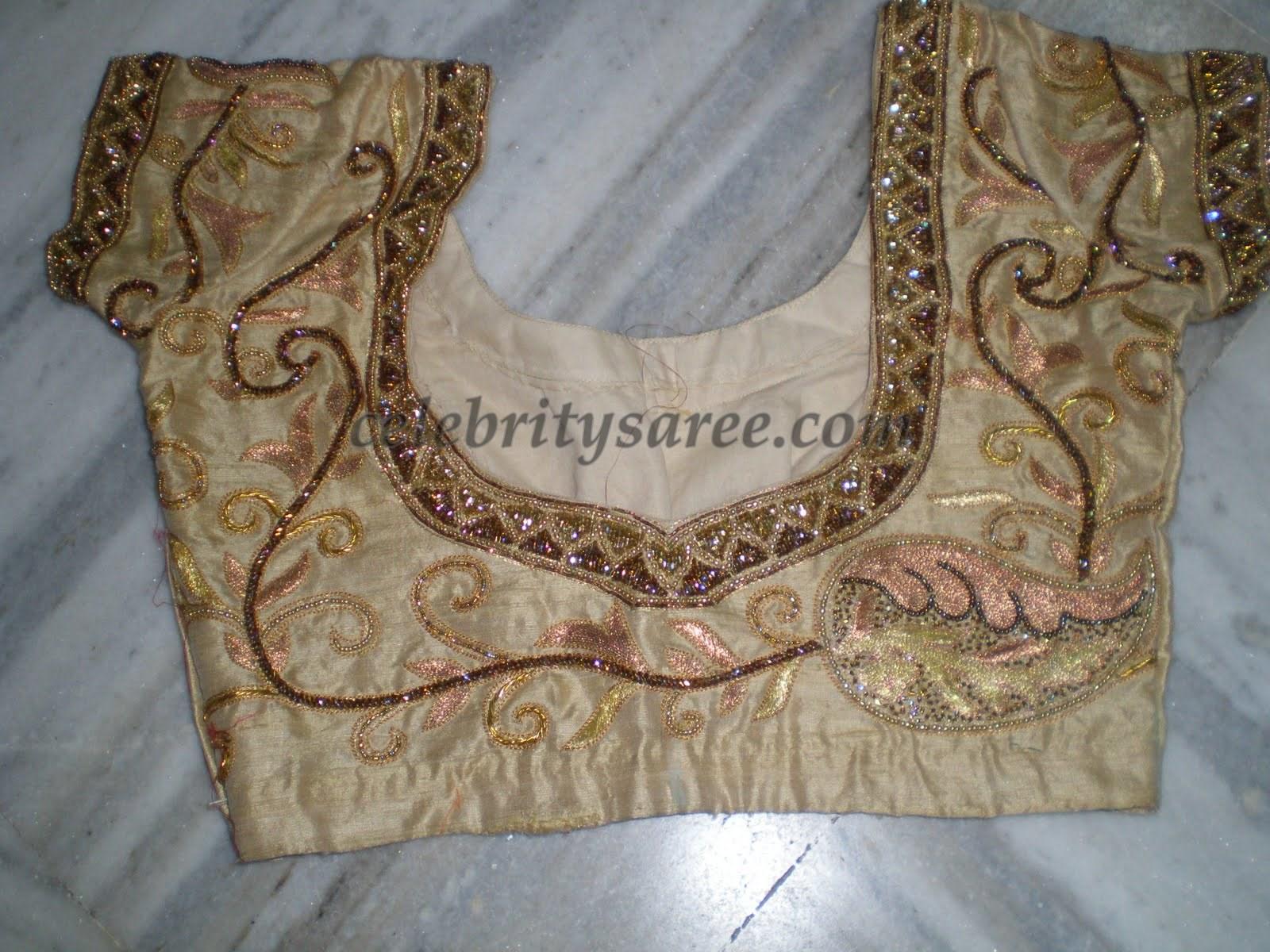 Cut Work Designer Saree Blouses Gallery - Saree Blouse ...