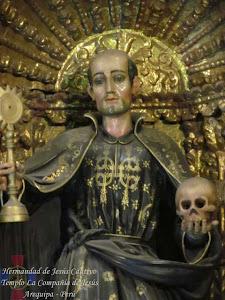 Octubre - San Francisco de Borja - Templo La Compañía