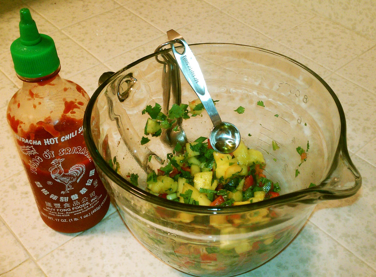 Valiantly Delicious: Spicy Pork Chops with Pineapple Salsa