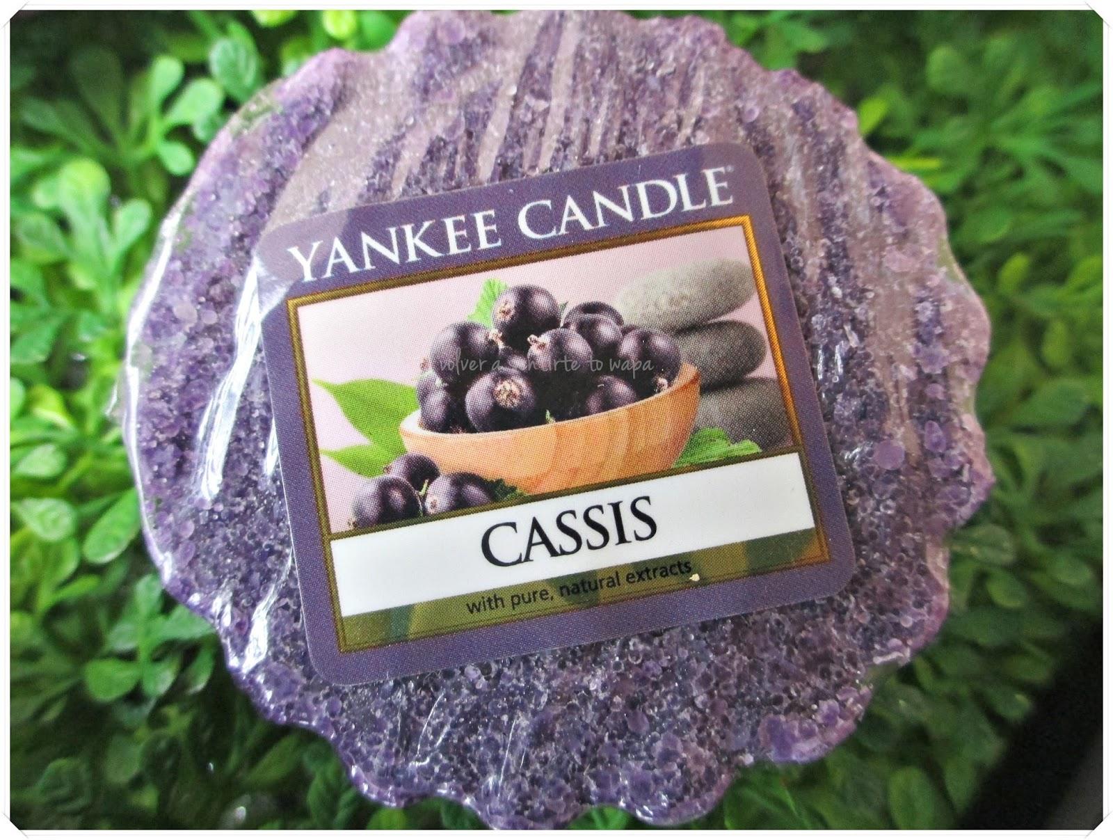tarts de Yankee Candle - Cassis