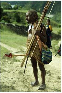 Pakaian Tradisional Pria Suku Yali, Mulai Terlupakan