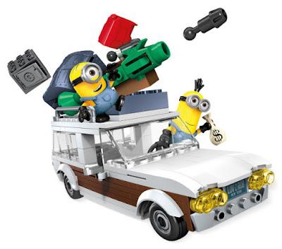 JUGUETES - MEGA BLOKS : Minions  Escape en furgoneta | Station Wagon Getaway Producto Oficial Película 2015 | CNF56 | Piezas: 188 | Edad: +5 años Comprar en Amazon