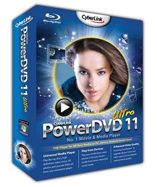 Capa CyberLink PowerDVD v11.0 Ultra + Serial