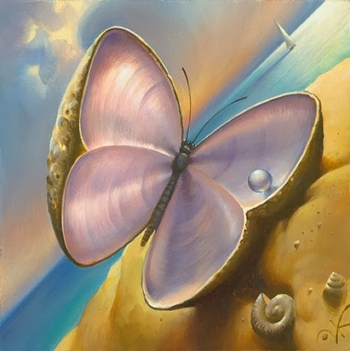 13-Pearl-Wings-Vladimir-Kush-Surreal-Lands-Paintings-www-designstack-co