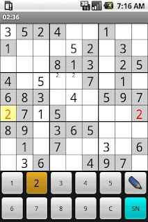 Android Sudoku