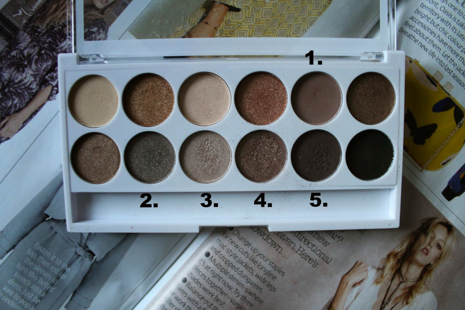 MUA Undress Me Too Eyeshadow Palette
