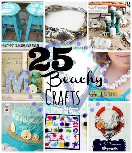 25 Beachy crafts
