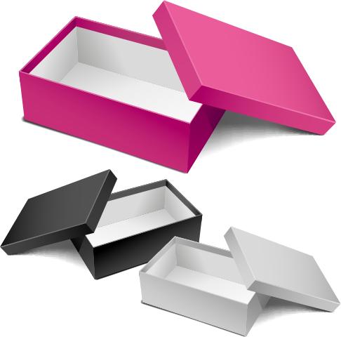 Cajas de zapatos - vector