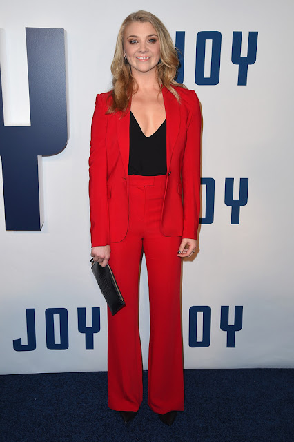 "Actress, @ Natalie Dormer - ""Joy"" New York Premiere"
