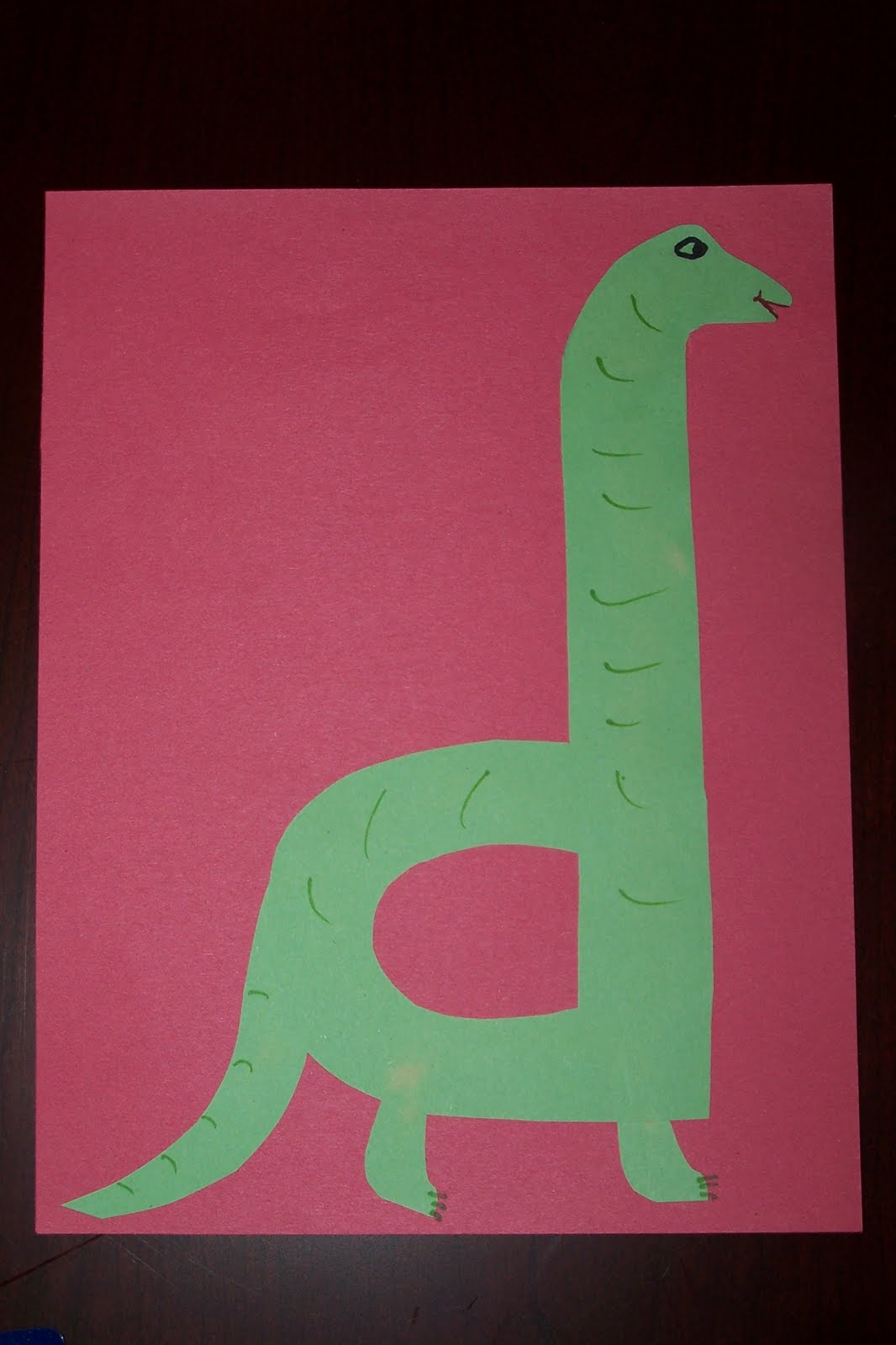The princess and the tot letter crafts uppercase for Dinosaur crafts for preschool