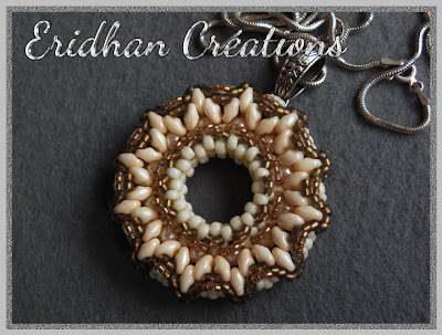 beaded donut pattern