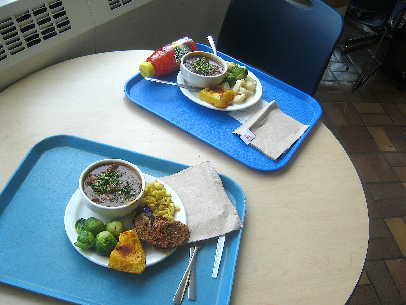 somerville kitchen: Eating in a Classroom