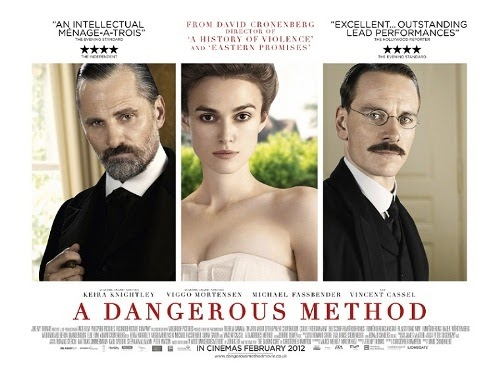 Elizabeth Baines: The stories and the stars A Dangerous Method Poster