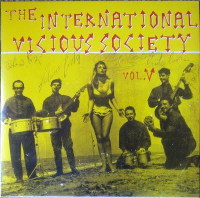 Cover Album of V.A. - THE INTERNATIONAL VICIOUS SOCIETY  VOL. 5 (2011)