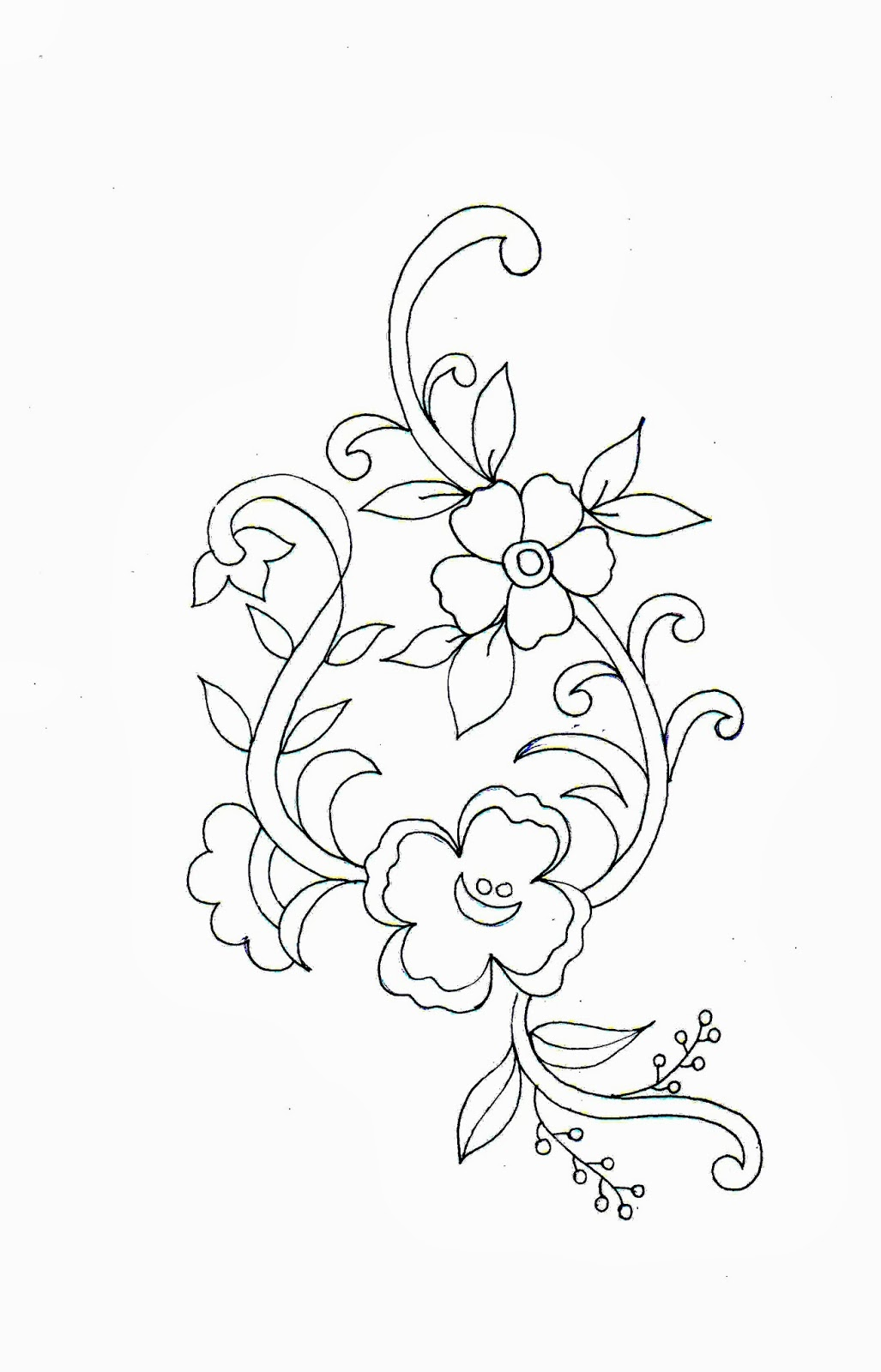 Embdesigntube Tremendous Embroidery Sketch Patterns Designs By Sarika