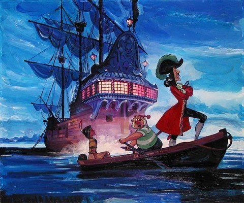 peter pan pirate ship name
