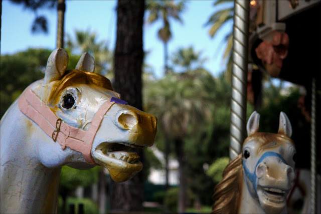 carousel old town nice france
