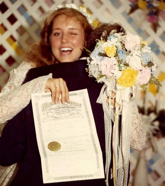 Jim Bob and Michelle Duggar 1984 wedding