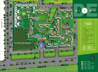 Amrapali Silicon City :: Site Plan
