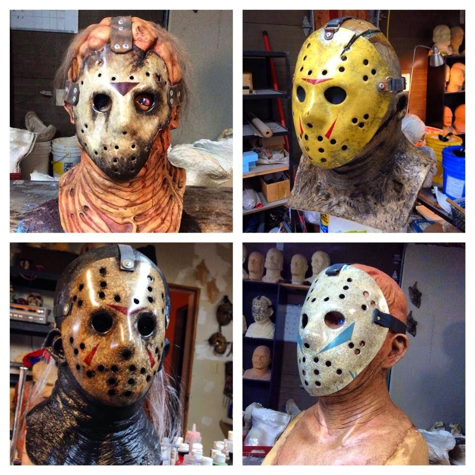 Custom Jason Voorhees, Hockey Masks by The Devils Latex - Friday ...