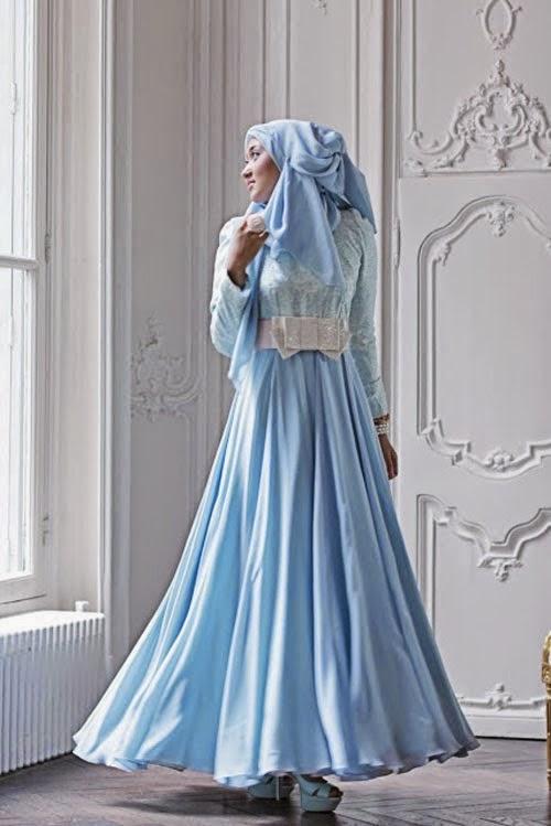 Model Gaun Muslim Pesta Gaun Muslimah Terbaru