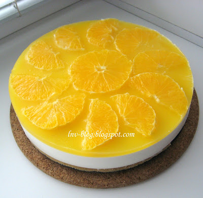 апельсиновый чизкейк рецепт с фото