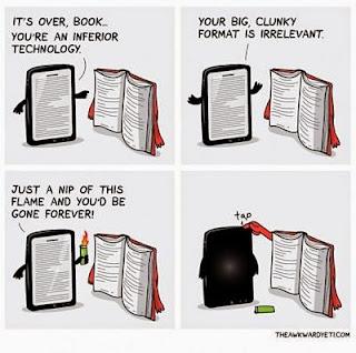 Ebook versus papel