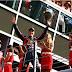 Vettel praticamente assegurou o bicampeonato no GP da Itália